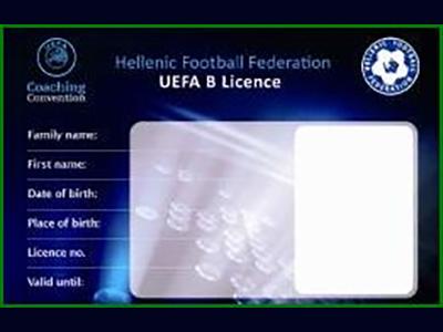Υποχρεωτικά κάτοχοι διπλώματος UEFA B (και άνω)  οι προπονητές των σωματείων  της Α1 και Α' Ερασιτεχνικής κατηγορίας  την αγωνιστική περίοδο 2018 – 2019