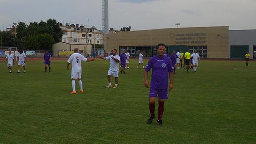 Tο 22ο ΑLL STAR Παλαιμάχων Ποδοσφαιριστών Θεσσαλονίκης  Ομάδα Δύσης – Ομάδα Ανατολής 11 - 4