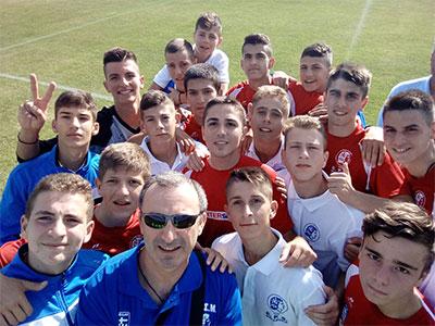 Τρίτη επιτυχία και πρόκριση της μικτής της ΕΠΣΜ στο Gothia Cup