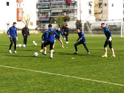 Προετοιμασία της Εθνικής Ανδρών  ενόψει του διεθνούς αγώνα Ελλάδας - Γεωργίας